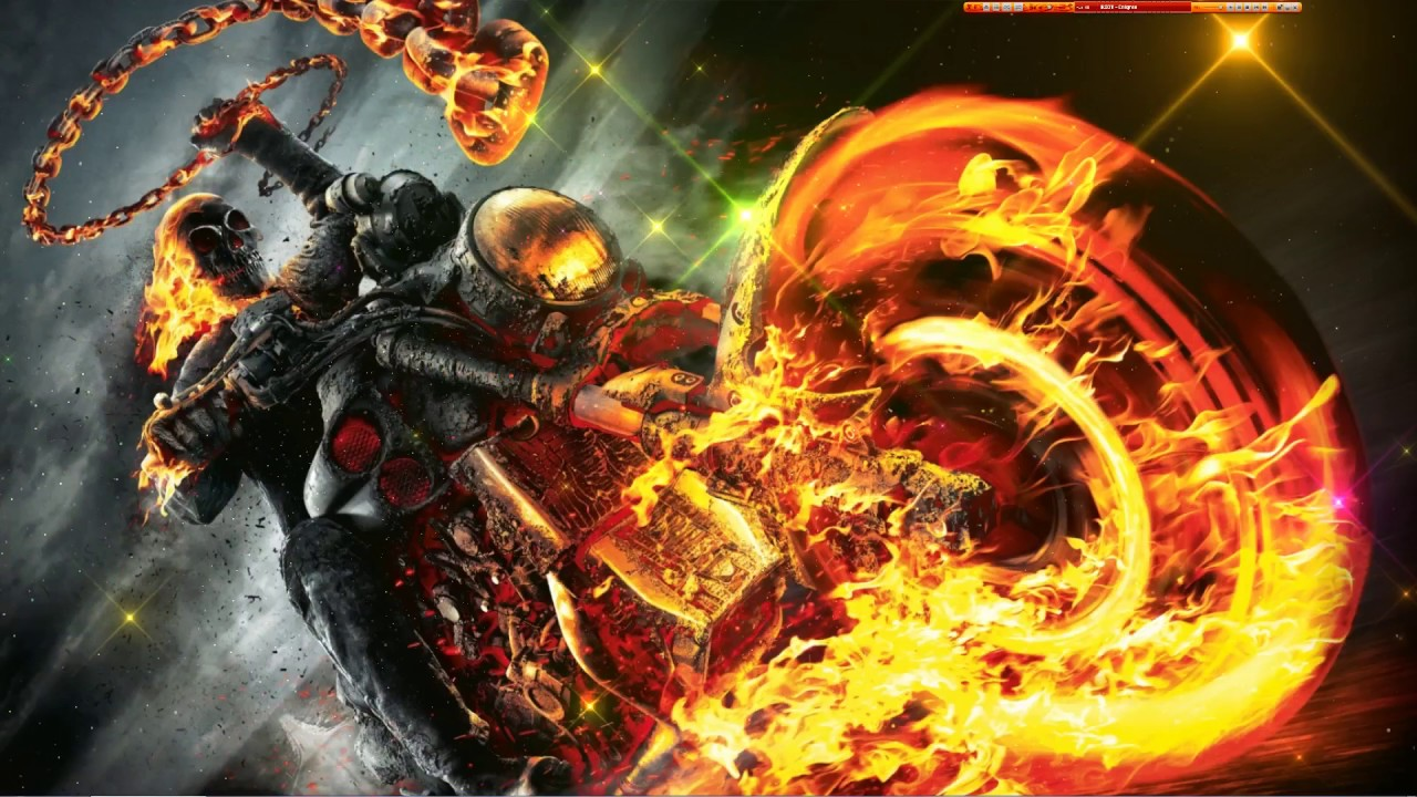 Wallpaper Ghost Rider 1920X1080 Effet