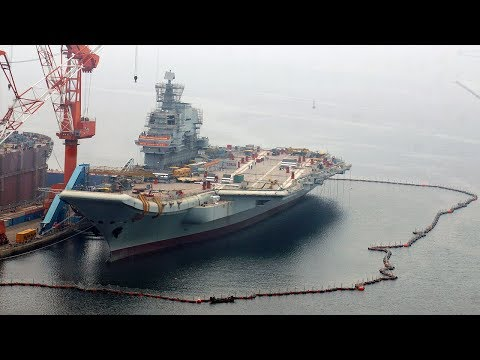 China's first domestically built aircraft carrier expected to begin sea trials