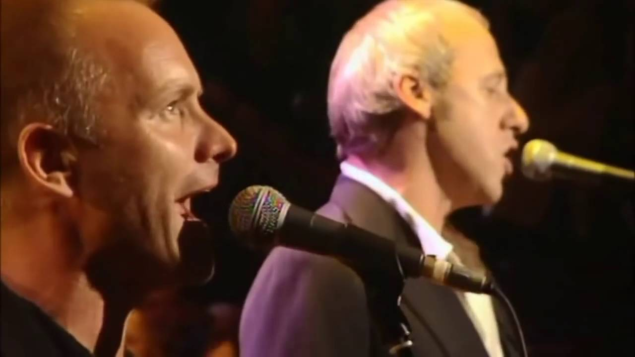 Mark Knopfler Eric Clapton Sting Phil Collins Money For Nothing Music For Montserrat Youtube