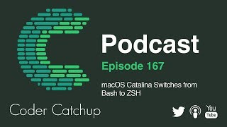 Gambar cover Episode 167 - macOS Catalina Switches from Bash to ZSH