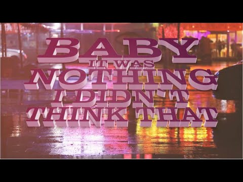 Luca Debonaire, Arnold Palmer - It Was Nothing (Official Lyric Video