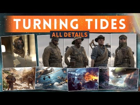 ► ALL DETAILS REVEALED! - Battlefield 1 Turning Tides DLC (New Guns, Vehicles, Elite Class & MORE!)