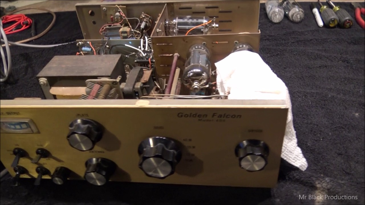 Golden Falcon 400 tube amp | WorldwideDX Radio Forum