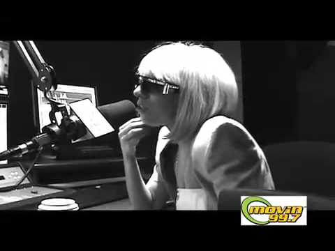 Lady Gaga her hair is REAL!!!