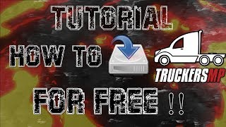 HOW TO INSTALL FREE TRUCKERSMP - For Ets & Ats