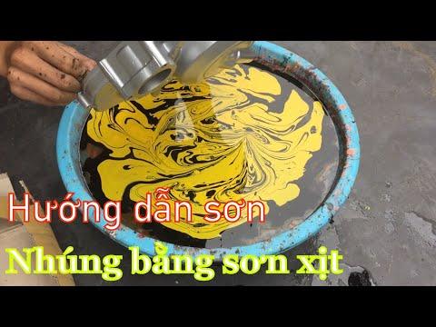 #hươngdansonnhungbangsonxit #ngocij #raidre #fx125 #ex62zz  Hướng Dẫn Sơn Nhúng BẰNG SƠN XỊT ATM