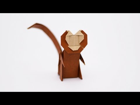 Origami Monkey-Jo Nakashima