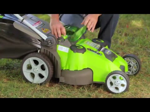 GreenWorks 25302 Lawn Mower (Don't buy it before you watch this