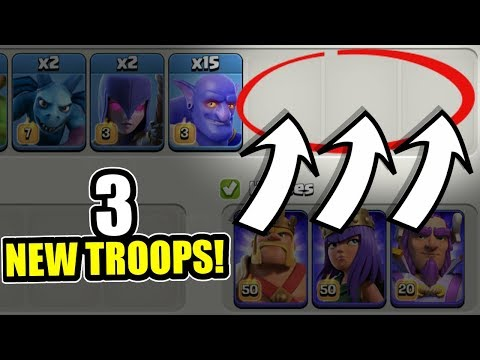 ANOTHER NEW TROOP LEAKED FOR TOWN HALL 12!? - Clash Of Clans - NEW UPDATE JUNE 2018