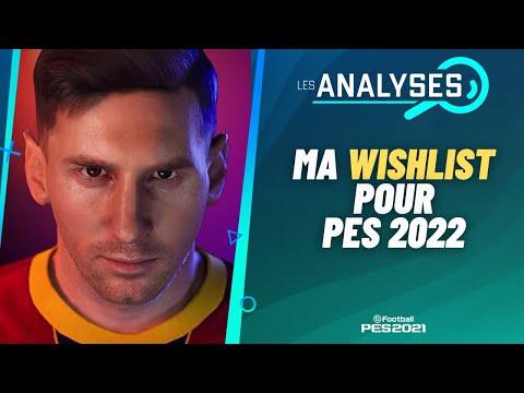 PES 2022 : Mes attentes pour PES 2022 !