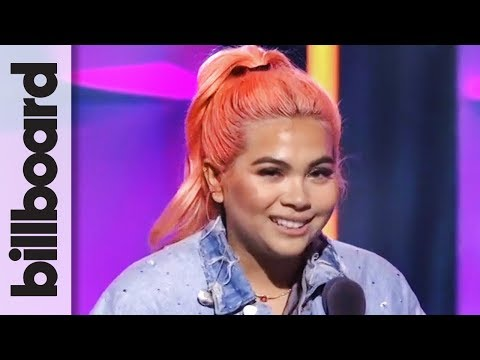 Hayley Kiyoko Accepts Rising Star Award | Women in Music