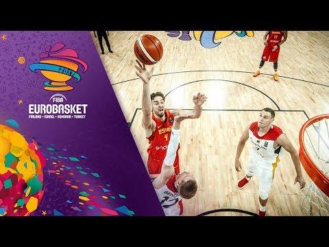 Germany v Spain - Full Game - Quarter-Final - FIBA EuroBasket 2017