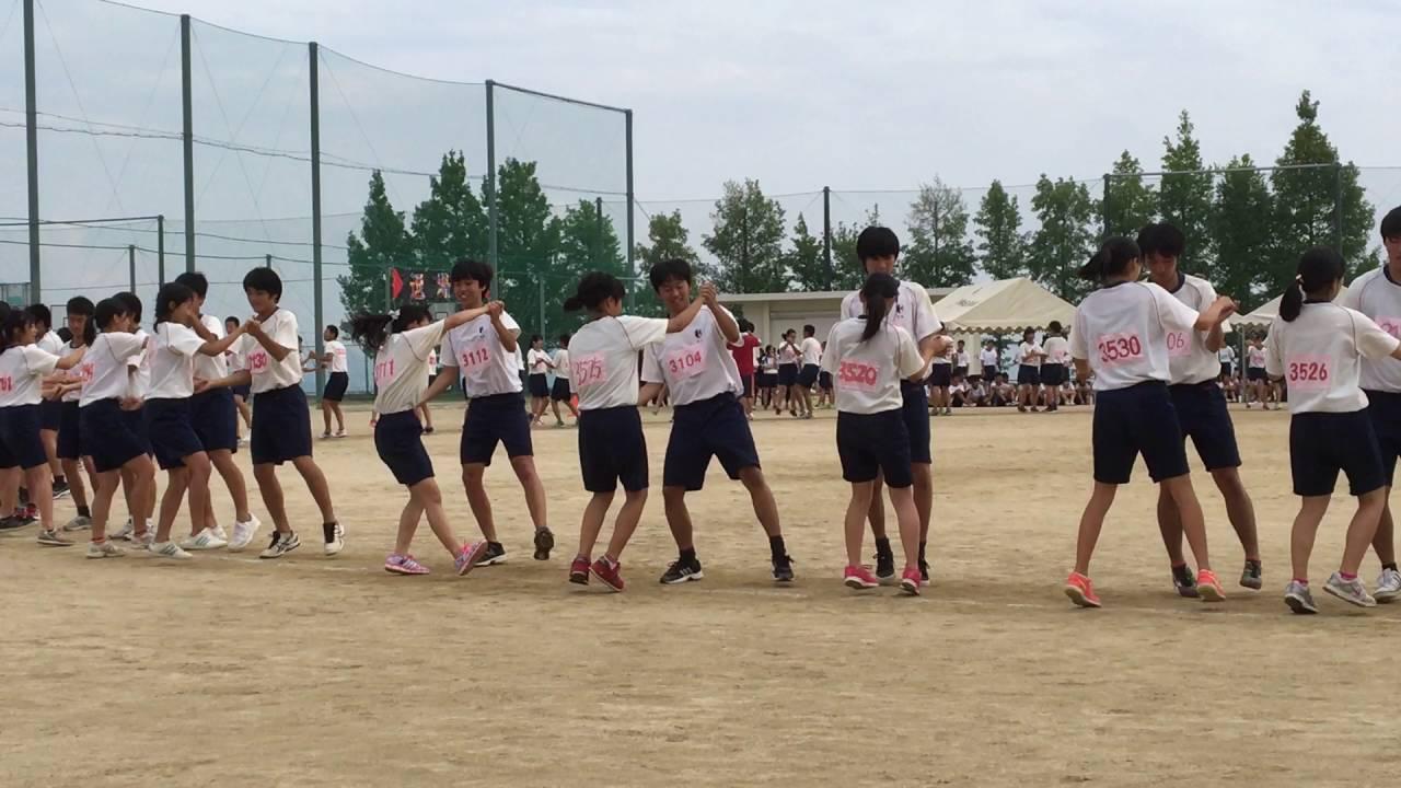 2016 五日市高校 第43回体育祭 フォークダンス ②