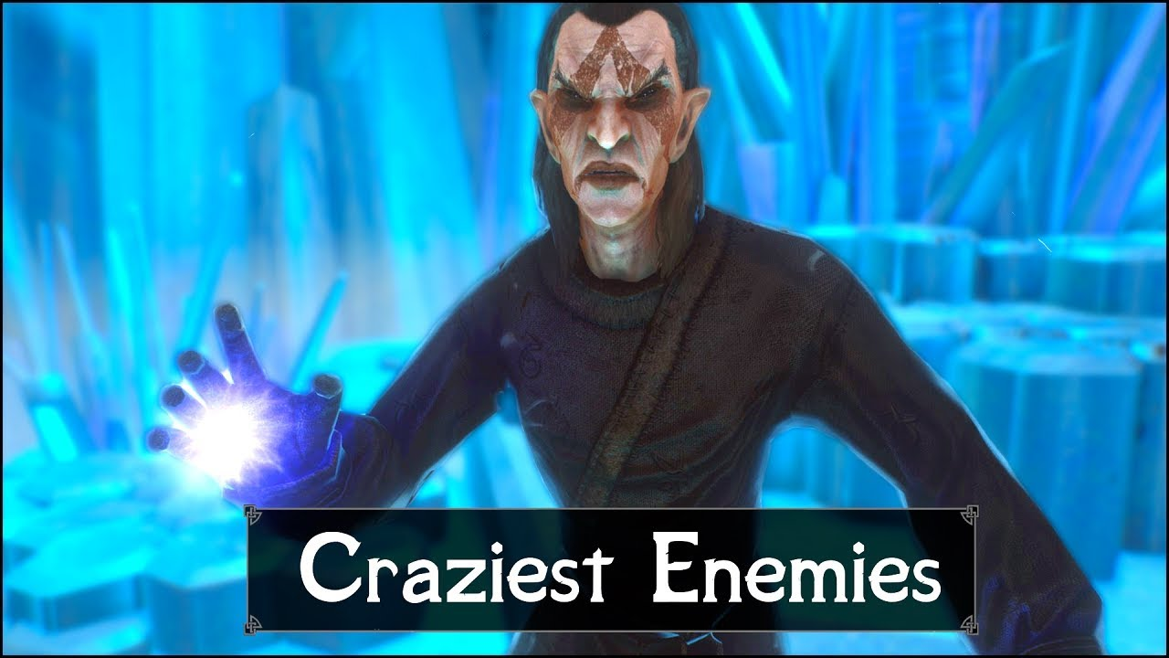Skyrim: Top 5 Craziest Enemies You May Have Missed in The Elder Scrolls 5: Skyrim thumbnail