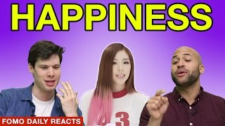 Red Velvet Happiness Fomo Daily Reacts