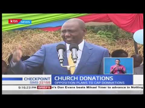 Leaders clash over church donations as TangaTanga insists on fund drives