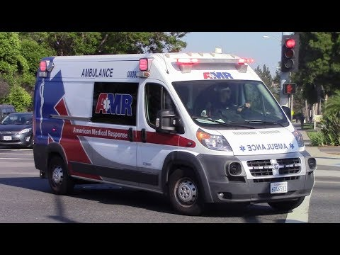 AMR Ambulance Code 3 Transport