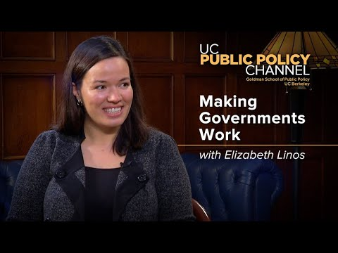 Making Government Work with Elizabeth Linos -- In the Living Room with Henry E. Brady