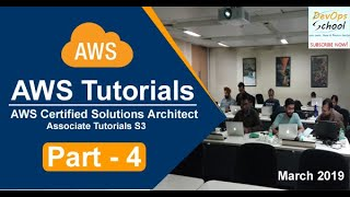 AWS Certified Solutions Architect Associate Tutorials   March 2019   S3   Part 4