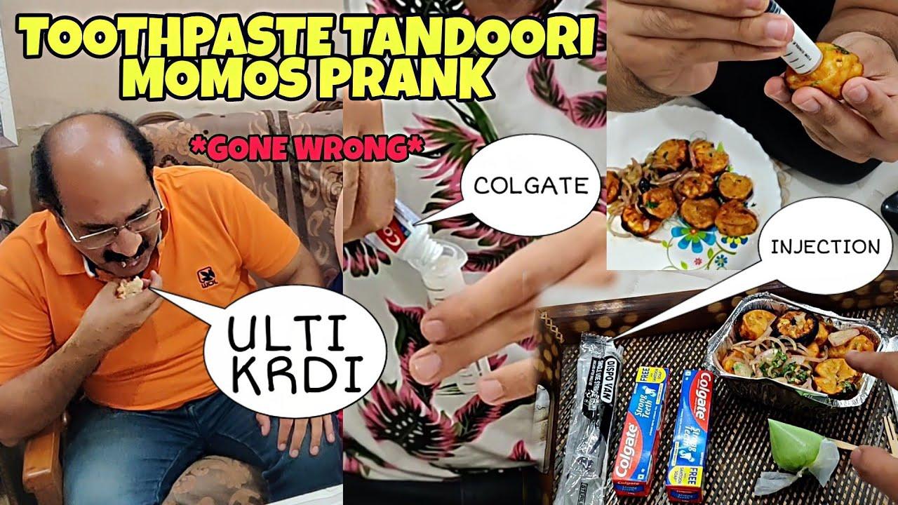 Tandoori Momos *COLGATE PRANK* on MOM & DAD - * Gone Wrong*