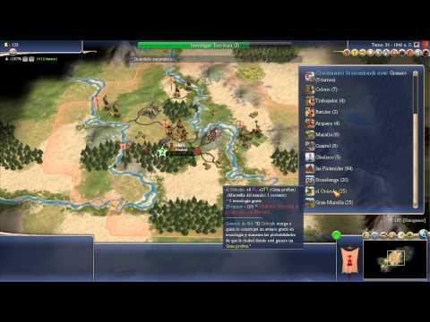 Civilization IV: Capitulo 1 - España - Comenzamos Bien! (Gameplay Español)