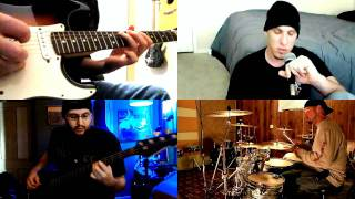 """Like a Stone"" - Audioslave -=- Full Band Collab/Cover (HD)"