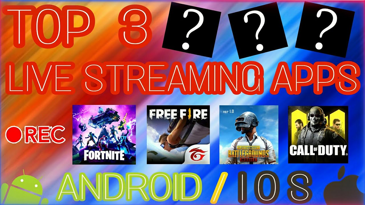 TOP 3 MOBILE LIVE STREAMING APPS   TOP 3 LIVE STREAMING APPS FOR ANDROID OR IOS IN 2021  
