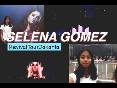 "SELENA GOMEZ ""REVIVAL TOUR JAKARTA"" 2016"