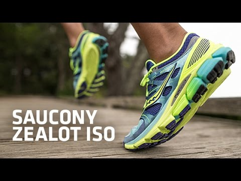 0d3557b01604 A video preview of the Saucony Zealot ISO running shoes. The Saucony Zealot  ISO is a neutral