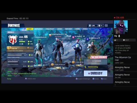 Fortnite Stream -Playing Playground With Subs - PS4 or PC