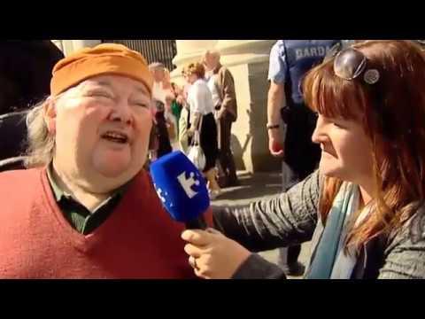 Martin Naughton on Tonight TV3
