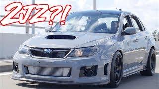 """2JZ Subaru WRX """"SupraRu"""" - The Most Reliable Subaru Ever?!"""