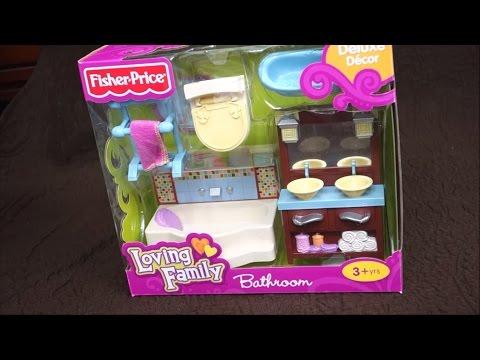 Fisher Price Loving Family Bathroom Set