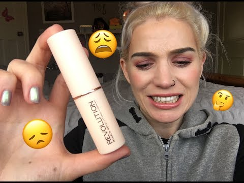 Make Up Revolution 'FAST BASE' Foundation Sticks // SO DISAPPOINTED!