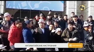 Кто стал инициатором антикитайского митинга в Бишкеке?