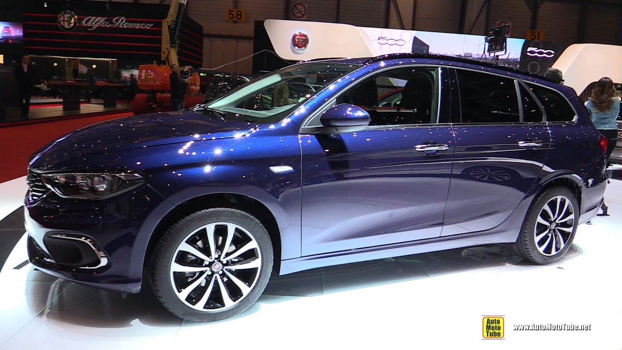 2016 fiat tipo wagon exterior and interior walkaround 2016 geneva motor show youtube - Fiat tipo interior ...