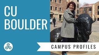 The University of Colorado, Boulder - Campus tour with American College Strategies