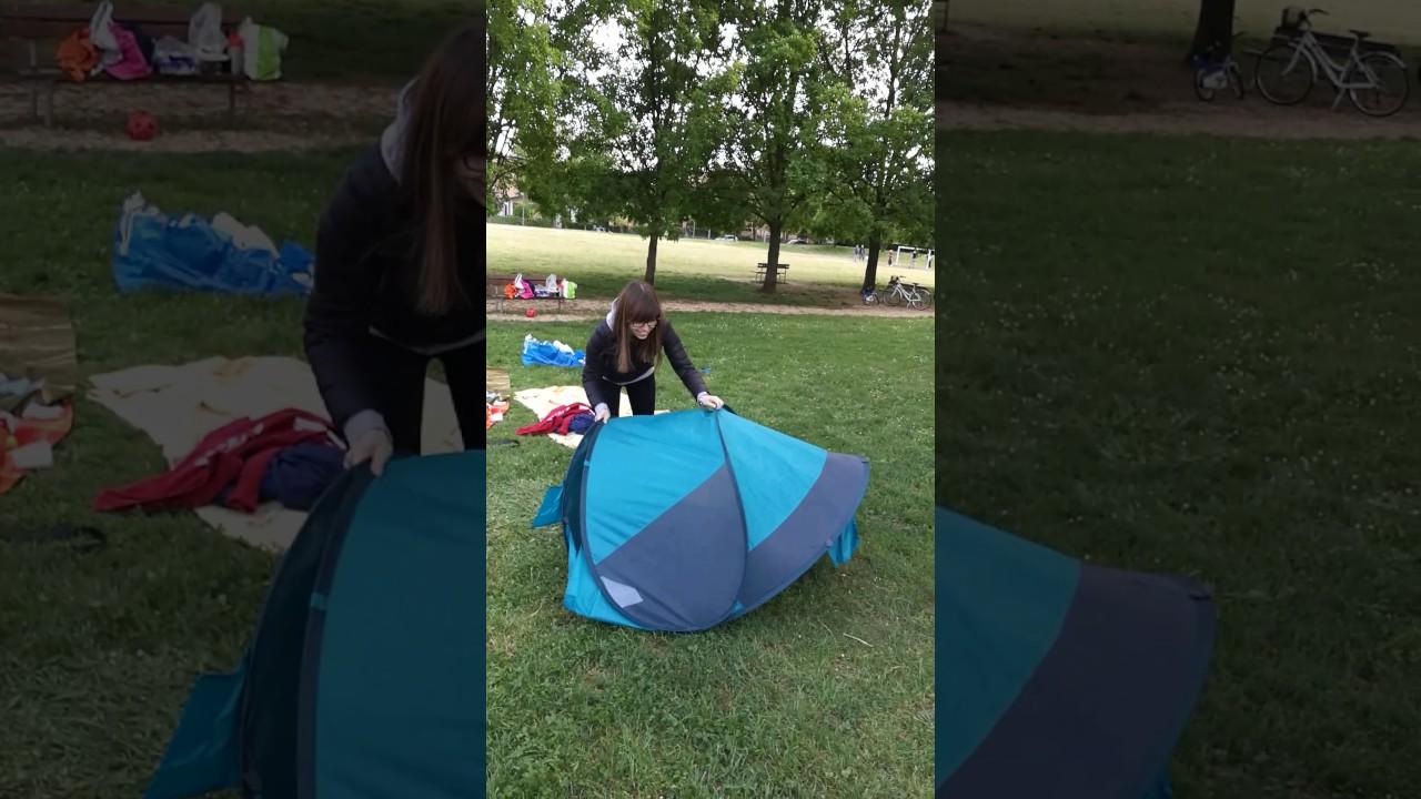 Chiusura Tenda LIDL - CRIVIT Closing tent & Chiusura Tenda LIDL - CRIVIT Closing tent - YouTube