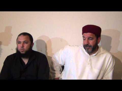 Ben Hlima & Cheik El Hila Bochum Mai2015 5 الشيخ المهندس محمد الهيلة يرفع الإلتباس على مقطع الفيديو
