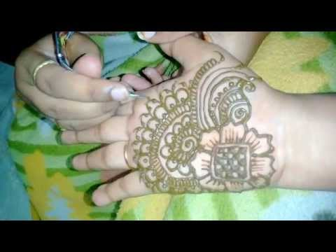 simple easy mehndi design  for hands -quick henna design easy:Matroj Mehndi Designs