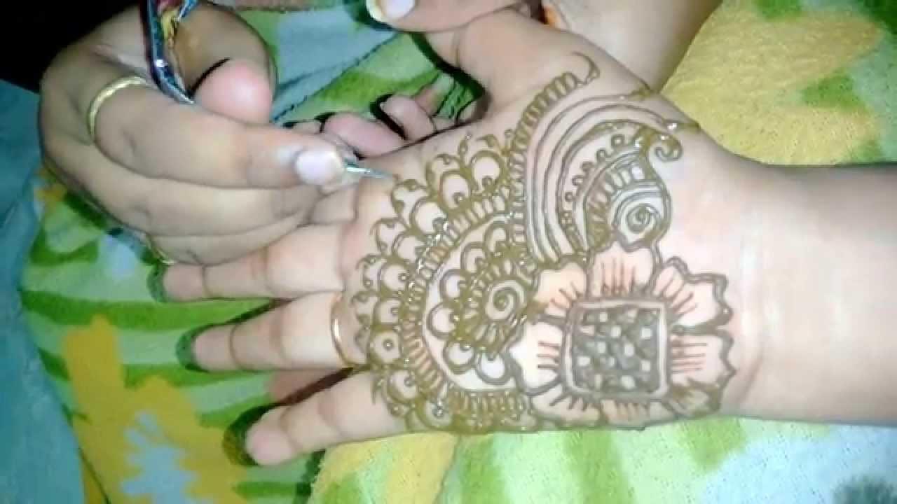 Simple Easy Mehndi Design For Hands Quick Henna EasyMatroj Designs