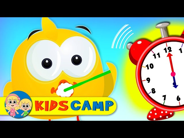 Learn Colors With Morning Routine | Cute Ducks Go To School | Learning Videos for Kids