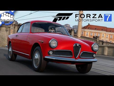 FORZA MOTORSPORT 7 - Alfa Romeo Giulietta Sprint - Top Gear Car Pack - Review [german / deutsch]