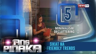 Ang Pinaka sikat na eco-friendly trends: Minimalism or decluttering