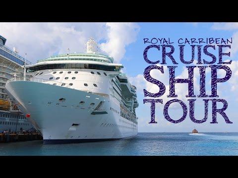 Royal Carribean Radiance Class Ship Tour 03-14-16