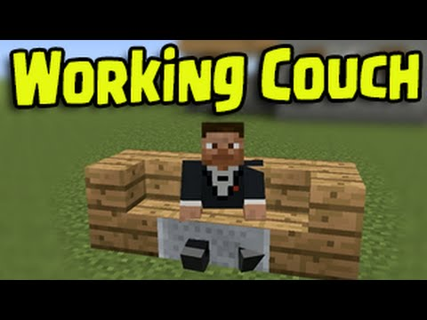 Minecraft Ps3 Ps4 Xbox Wii U Working Couch And Chair How To