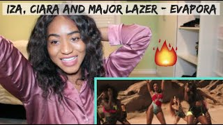 Baixar IZA, Ciara and Major Lazer - Evapora (Official Music Video) | REACTION