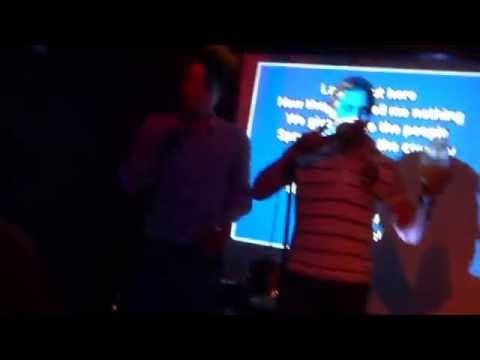 """""""Can't Hold Us"""" karaoke in Toronto"""