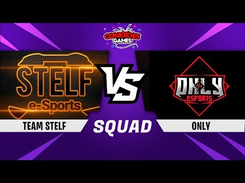TEAM STELF vs ONLY - TORNEIO SQUAD PS4 - FINAL