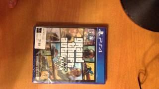 Розпакування Grand Theft Auto V (PS4)